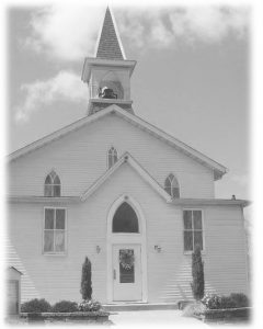Kerr Church from the front
