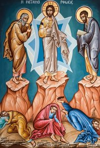 icon of the transfiguration of christ from pixabay