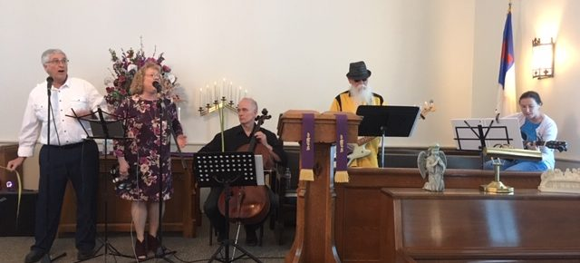 musicians at Kerr Church