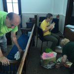 volunteers working at Kerr