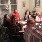 Adults Meeting in the Kerr House for Study