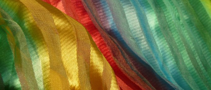 rainbow cloth image from Pixabay