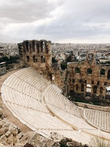 A ancient structure in Athens