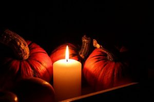 Candle Pumpkin from Pixabay