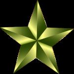 gold star by Gordon Johnson Pixabay