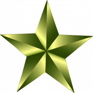 gold star by Gordon Johnson Pixabay