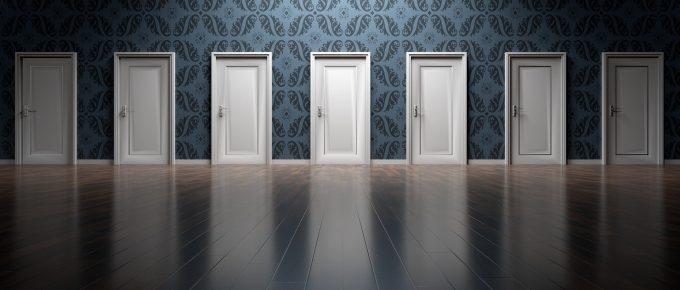 image of many doors, Arek Socha, Pixabay