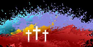 crosses in color by aalmeidah, pixabay