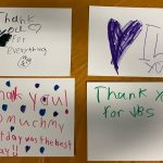 VBS kids thank you pictures
