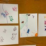 VBS kids drawings