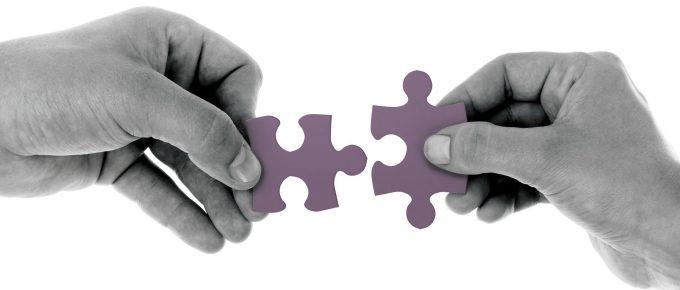 photo of puzzle put together by hands, Senjin Pojskic, Pixabay